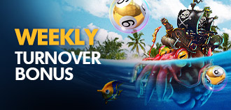 QQ KENO AND FISHING WEEKLY TURNOVER BONUS