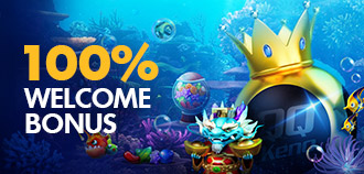 SLOTS 100% WELCOME BONUS